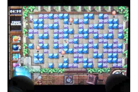 iPhone app ボンバーマン TOUCH -The Legend of Mystic Bomb- - YouTube