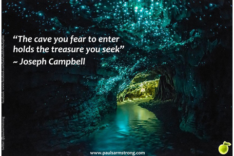 The cave you fear to enter… – Paul Salahuddin Armstrong