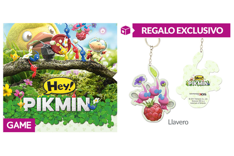 Hey! Pikmin para 3DS - Regalo con la reserva en GAME ...
