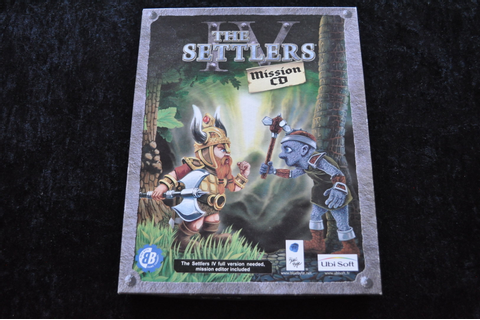 The Settlers 4 Mission CD PC Game - Standaard