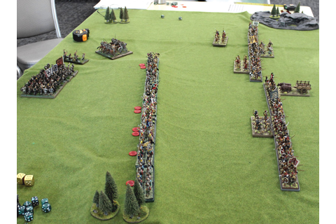 Bucellarii: Battle of Ashdown 871 AD Dux Bellorum Game