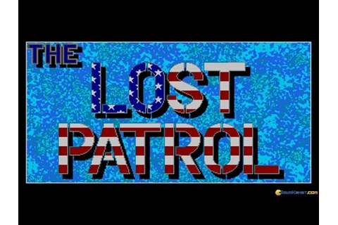 Lost Patrol gameplay (PC Game, 1990) - YouTube