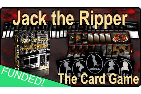 Jack the Ripper - A Primer Card Game by Crypt Monkey ...