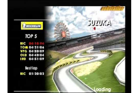 moto racer world tour ps1 - YouTube