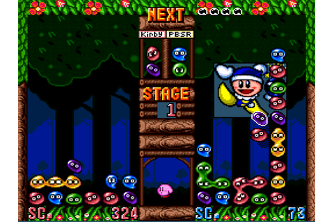 Kirby's Avalanche (Kirby's Ghost Trap) Screenshots ...