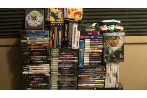 Moxxi Video Game Lot eBay Auction - 134 New & Used Games ...