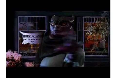 Goosebumps Escape from Horrorland: Stump Cutscene - YouTube