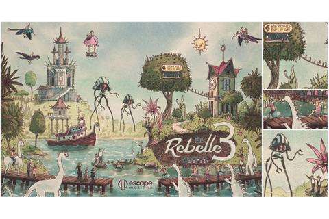 Rebelle 3 Painting Software: Crazy Game & Rational Creation