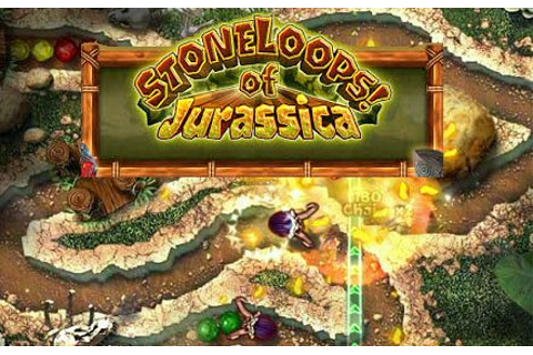 Download Stoneloops! Of Jurassica for free at FreeRide Games!