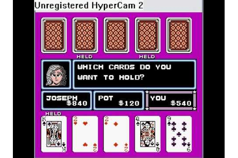 NES Games: Casino Kid: Beat Joseph in Poker - YouTube
