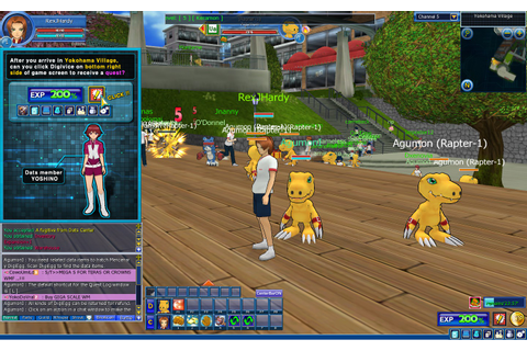 DIGIMON MASTERS ONLINE – HARDCORE GAMES™