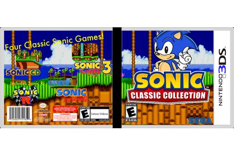 Sonic Classic Collection Nintendo 3DS Box Art Cover by Luigi53