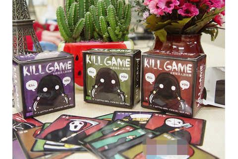 Free shipping Kille Game Q Version Card Game Family ...