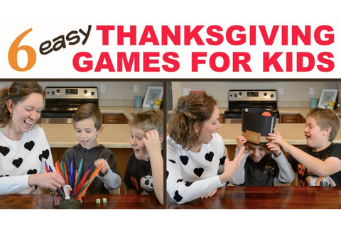 6 Best Thanksgiving Party Games for Kids! | Family Fun ...