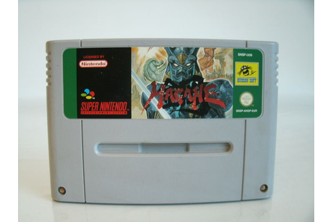 Super Nintendo game Hagane the final conflict - Catawiki