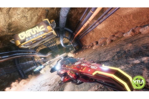 Pacer, the Anti-Grav Racing Game, Gets New Ajura Track ...