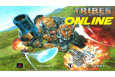 Tribes Aerial Assault Playstation 2 online - YouTube