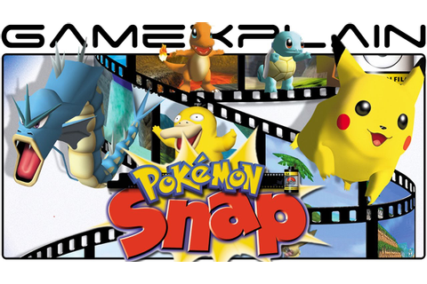 Pokémon Snap - Game & Watch (Wii U Virtual Console) - YouTube