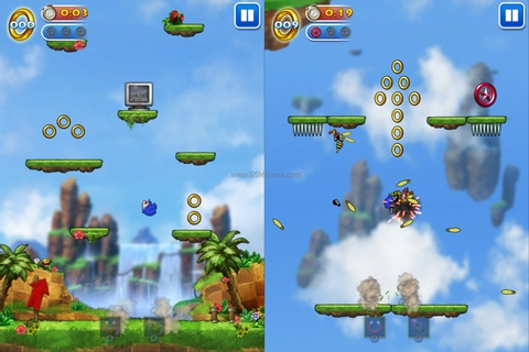 'Sonic Jump' for iOS game review