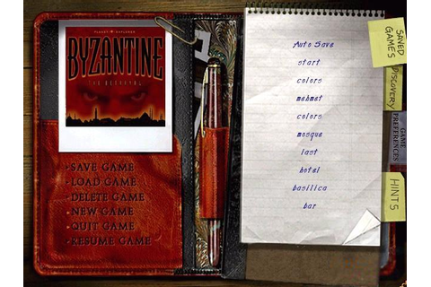 Byzantine: The Betrayal Download (1997 Educational Game)