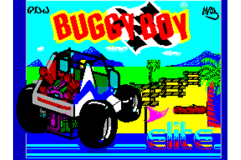 Buggy Boy (1988) by Elite ZX Spectrum game