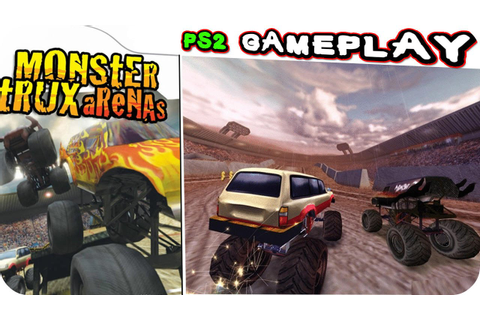 Monster Trux Arenas Special Edition Gameplay PS2 - YouTube