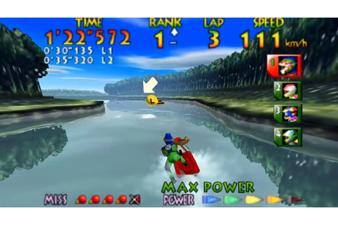 Wave Race 64 Player Spends Nine Years Shaving Less Than ...