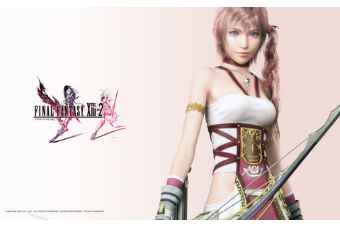 THE BING: Final Fantasy XIII-2 Game Wallpaper