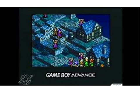 Tactics Ogre: The Knight of Lodis - Game Boy Advance - IGN