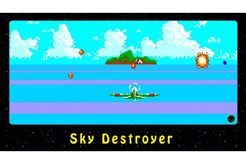Sky Destroyer (NES) - YouTube