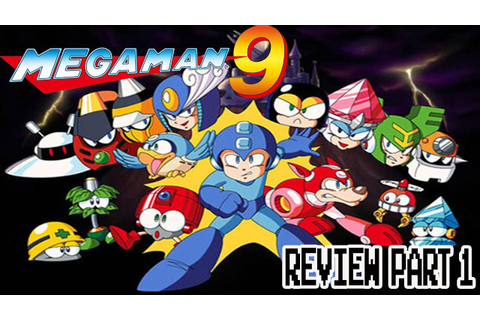 Kwing Game Reviews - Mega Man 9 Game Review - YouTube