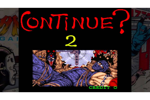 Ninja Gaiden Arcade Game-Over Screen (HD) - YouTube