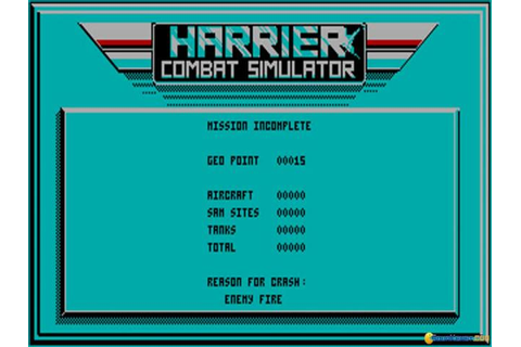 Harrier Combat Simulator download PC