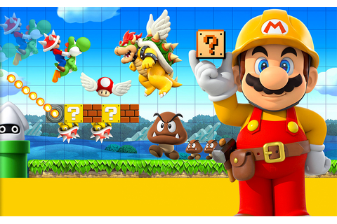 Review of Super Mario Maker for Nintendo 3DS Video Game