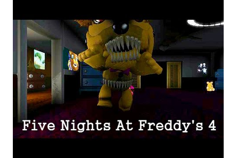 Five Nights At Freddy's 4 Game - LittleBigPlanet 3 LBP3 ...
