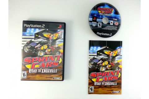 Sprint Cars Road to Knoxville game for Playstation 2 ...