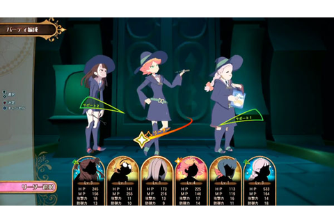 33 minutes of Little Witch Academia: Chamber of Time ...
