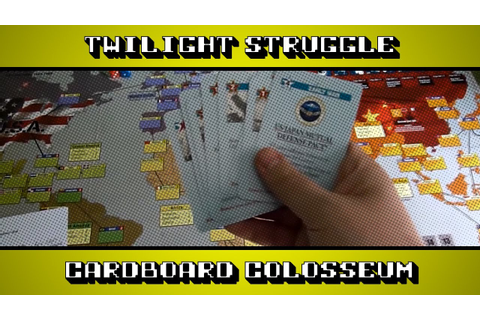 Twilight Struggle - A Board Game Review - YouTube