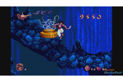 1993 Aladdin (Sega Genesis) Game Playthrough Video Game ...