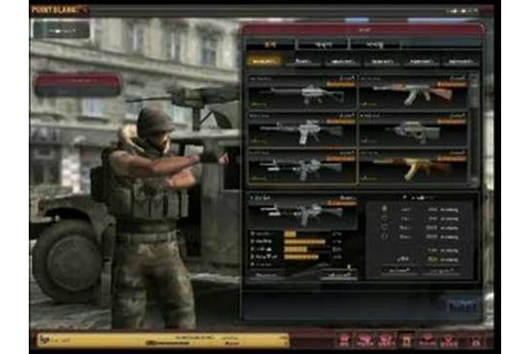Point Blank Game Interface - YouTube