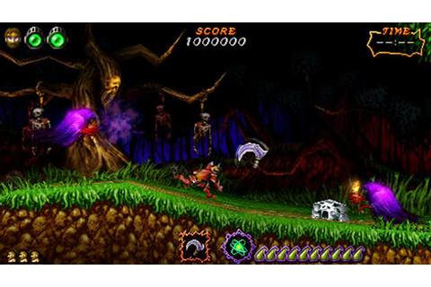 Ultimate Ghosts 'n Goblins™ Game | PSP - PlayStation
