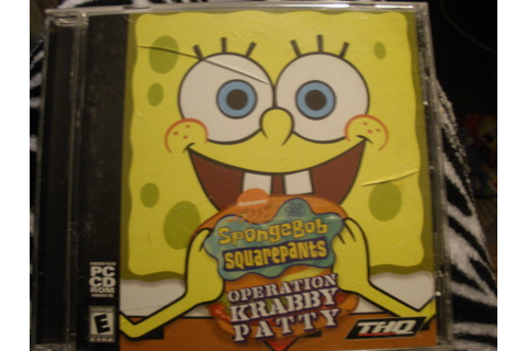 Free: SpongeBob Squarepants Operation Krabby Patty PC-CD ...