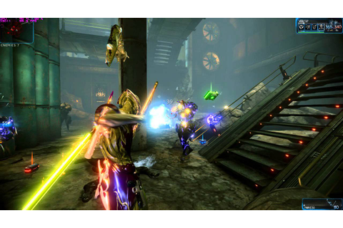 Warframe Gameplay: VOLT abilities and basic maneuvers ...