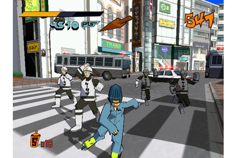 Jet Set Radio – Script Routine