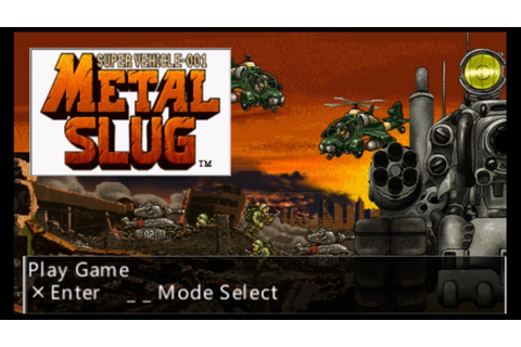 Metal Slug Anthology PSP Gameplay - YouTube
