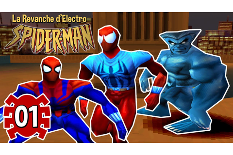 LES COSTUMES #1 Spider-man 2 La Revanche d'Electro PS1 ...
