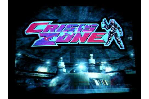 Namco Crisis Zone attract demo arcade game - YouTube