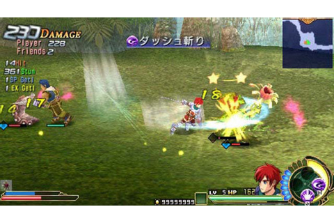 Ys SEVEN Game | PSP - PlayStation
