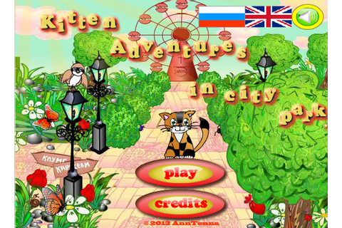 Kitten adventures in city park - Point And Click - alegre ...