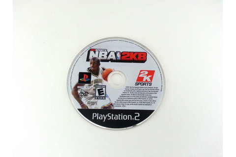 NBA 2K8 game for Playstation 2 (Loose) | The Game Guy